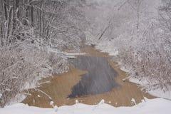 βαλτικός χειμώνας θύελλας της Ρωσίας αποβαθρών zelenogradsk Στοκ εικόνα με δικαίωμα ελεύθερης χρήσης