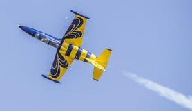 Βαλτικό αεροπλάνο μελισσών Στοκ εικόνα με δικαίωμα ελεύθερης χρήσης