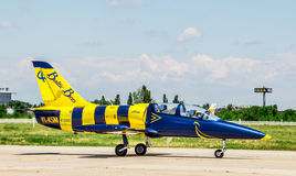 Βαλτικό αεροπλάνο μελισσών Στοκ φωτογραφία με δικαίωμα ελεύθερης χρήσης