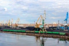 Βαλτικό τερματικό άνθρακα Στοκ φωτογραφία με δικαίωμα ελεύθερης χρήσης