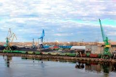 Βαλτικό τερματικό άνθρακα Στοκ εικόνα με δικαίωμα ελεύθερης χρήσης