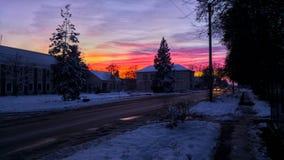 Βγαίνοντας ουρανός Στοκ φωτογραφία με δικαίωμα ελεύθερης χρήσης