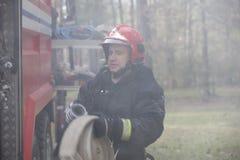 Βγείτε τις μάνικες πυρκαγιάς Στοκ εικόνα με δικαίωμα ελεύθερης χρήσης