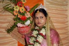 βεγγαλική νύφη Στοκ εικόνα με δικαίωμα ελεύθερης χρήσης