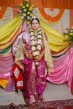 βεγγαλικός γάμος τελετουργικών της Ινδίας Στοκ φωτογραφία με δικαίωμα ελεύθερης χρήσης