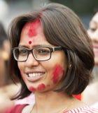Βεγγαλική γυναίκα Στοκ εικόνα με δικαίωμα ελεύθερης χρήσης