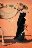 βεδουίνη γυναίκα του Ομ στοκ φωτογραφία με δικαίωμα ελεύθερης χρήσης