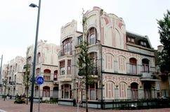 Βελγικά πειραματικά σπίτια Στοκ Εικόνες