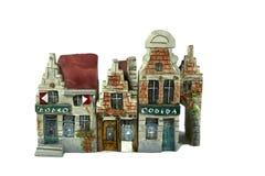 βελγικά σπίτια Στοκ εικόνα με δικαίωμα ελεύθερης χρήσης