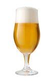 Βελγική αγγλική μπύρα (μπύρα) που απομονώνεται Στοκ Εικόνες