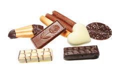 βελγική σοκολάτα μπισκό&t στοκ φωτογραφίες με δικαίωμα ελεύθερης χρήσης