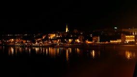 Βελιγράδι τη νύχτα Στοκ φωτογραφία με δικαίωμα ελεύθερης χρήσης