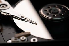 Βελόνα των μερών υπολογιστών κίνησης σκληρών δίσκων στοκ φωτογραφίες με δικαίωμα ελεύθερης χρήσης