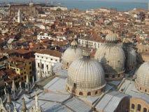 Βενετία από ανωτέρω Στοκ εικόνα με δικαίωμα ελεύθερης χρήσης