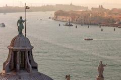 Βενετία από το SAN Giorgio Maggiore Στοκ Εικόνες