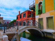 Βενετία - γέφυρες & κανάλια Στοκ φωτογραφία με δικαίωμα ελεύθερης χρήσης