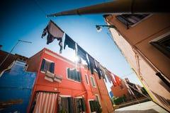 Βενετία - είναι μια πόλη στη βορειοανατολική Ιταλία που εγκαθίσταται σε μια ομάδα πολλών μικρών νησιών που χωρίζονται από τα κανά Στοκ εικόνα με δικαίωμα ελεύθερης χρήσης