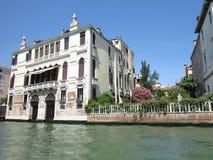 20 06 2017, Βενετία, Ιταλία: Άποψη των ιστορικών κτηρίων και των καναλιών Στοκ Εικόνες