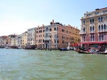 20 06 2017, Βενετία, Ιταλία: Άποψη των ιστορικών κτηρίων και των καναλιών Στοκ εικόνες με δικαίωμα ελεύθερης χρήσης
