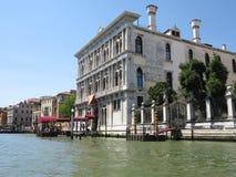 20 06 2017, Βενετία, Ιταλία: Άποψη των ιστορικών κτηρίων και των καναλιών Στοκ Φωτογραφία