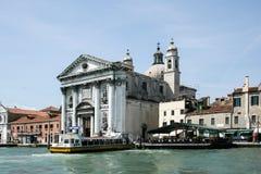 Βενετία, Ιταλία - 21 Ιουνίου 2010: Η εκκλησία Sta Μαρία del Ροσάριο Ι Gesuati στο Zattere στη Βενετία Στοκ Εικόνες