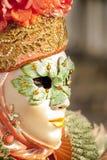 Βενετία, Ιταλία - 5 Φεβρουαρίου 2018 - οι μάσκες καρναβαλιού 2018 Στοκ Φωτογραφία