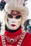 Βενετία, Ιταλία - 6 Φεβρουαρίου 2018 - οι μάσκες καρναβαλιού 2018 Στοκ Εικόνες