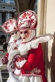 Βενετία, Ιταλία - 6 Φεβρουαρίου 2018 - οι μάσκες καρναβαλιού 2018 Στοκ εικόνα με δικαίωμα ελεύθερης χρήσης