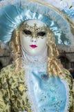 Βενετία, Ιταλία - 7 Φεβρουαρίου 2018 - οι μάσκες καρναβαλιού 2018 Στοκ φωτογραφία με δικαίωμα ελεύθερης χρήσης