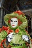 Βενετία, Ιταλία - 7 Φεβρουαρίου 2018 - οι μάσκες καρναβαλιού 2018 Στοκ Εικόνες