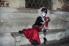 Βενετία, Ιταλία - 6 Φεβρουαρίου 2018 - οι μάσκες καρναβαλιού 2018 Στοκ φωτογραφία με δικαίωμα ελεύθερης χρήσης