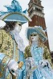 Βενετία, Ιταλία - 7 Φεβρουαρίου 2018 - οι μάσκες καρναβαλιού 2018 Στοκ Εικόνα