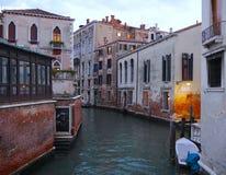 Βενετία - Ιταλία - κανάλια και αρχιτεκτονική Στοκ φωτογραφία με δικαίωμα ελεύθερης χρήσης