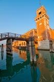 Βενετία Ιταλία Arsenale Στοκ Εικόνα