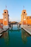 Βενετία Ιταλία Arsenale Στοκ Φωτογραφίες