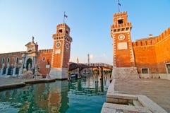 Βενετία Ιταλία Arsenale Στοκ φωτογραφίες με δικαίωμα ελεύθερης χρήσης