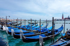 Βενετία και οι γόνδολές του στοκ φωτογραφίες με δικαίωμα ελεύθερης χρήσης