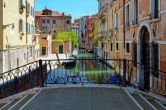 Βενετία, κανάλι Στοκ εικόνες με δικαίωμα ελεύθερης χρήσης