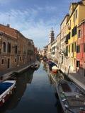 Βενετία, κανάλι Στοκ φωτογραφία με δικαίωμα ελεύθερης χρήσης