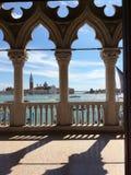 Βενετία, λιμενική άποψη στοκ φωτογραφία με δικαίωμα ελεύθερης χρήσης