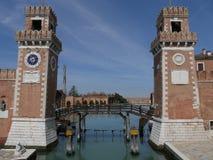 Βενετία - οπλοστάσιο στοκ φωτογραφία με δικαίωμα ελεύθερης χρήσης