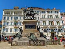 Βενετία - ο ιππικός Victor Emmanuel ΙΙ μνημείο Στοκ φωτογραφία με δικαίωμα ελεύθερης χρήσης