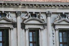 Βενετία, πλατεία SAN Marco παλαιό Procuratie στοκ εικόνες