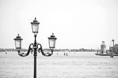 Βενετία σε γραπτό Στοκ Φωτογραφίες