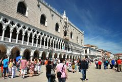 Βενετία - το Doge παλάτι στοκ εικόνες