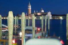Βενετία. Χειμερινό βράδυ. Στοκ φωτογραφίες με δικαίωμα ελεύθερης χρήσης