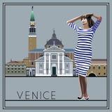 1 Βενετία Στοκ εικόνα με δικαίωμα ελεύθερης χρήσης