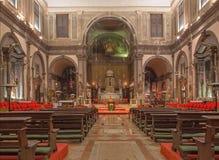 Βενετία - dei Santi ΧΙΙ Chiesa εκκλησιών Apostoli Στοκ φωτογραφία με δικαίωμα ελεύθερης χρήσης