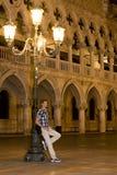 Βενετία - Doges παλάτι Στοκ Εικόνα
