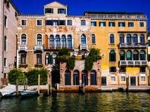 Βενετία - Venezia - τα παλάτια - palazzi Ι Στοκ Φωτογραφίες